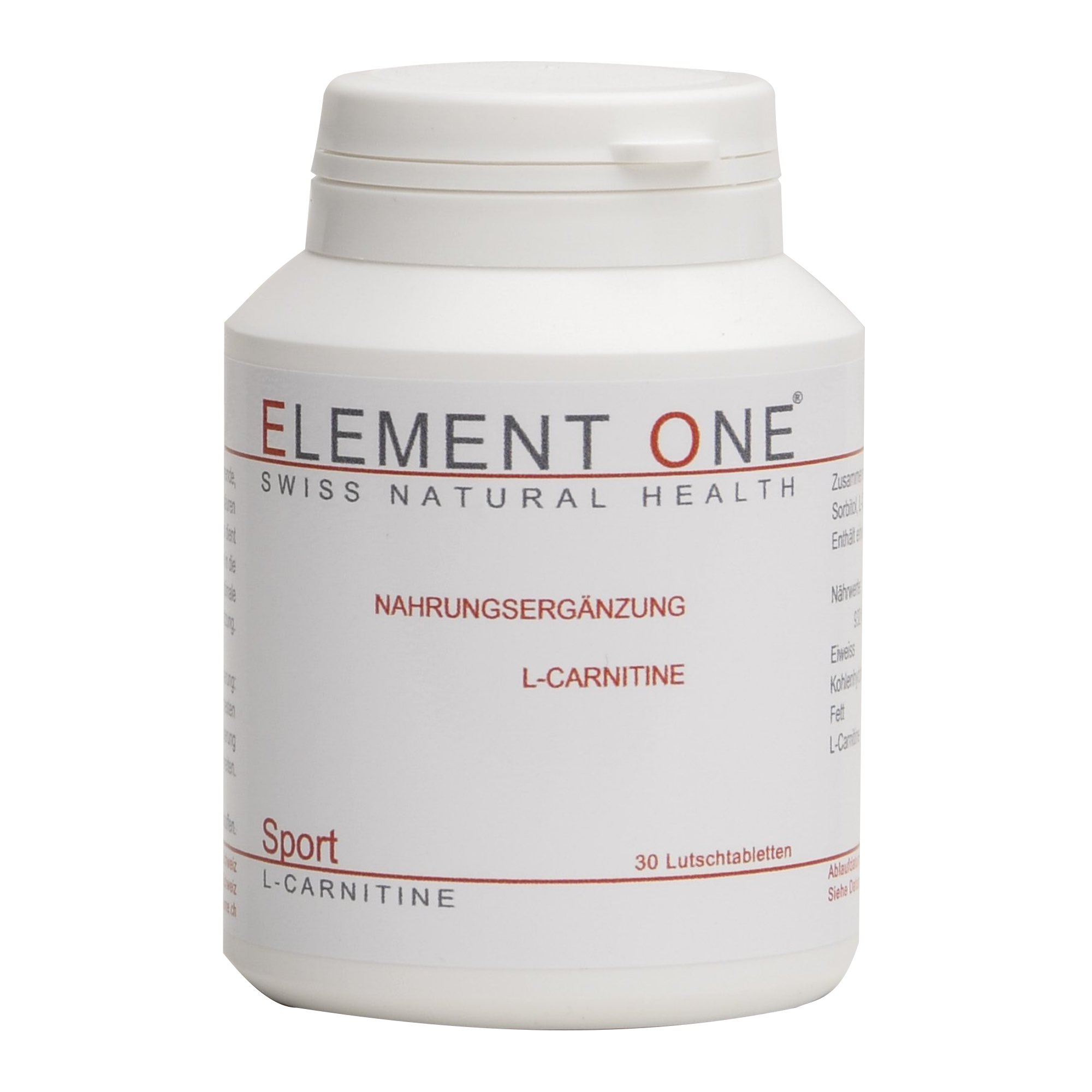 SPORT | L-CARNITINE | SWISS NATURAL HEALTH