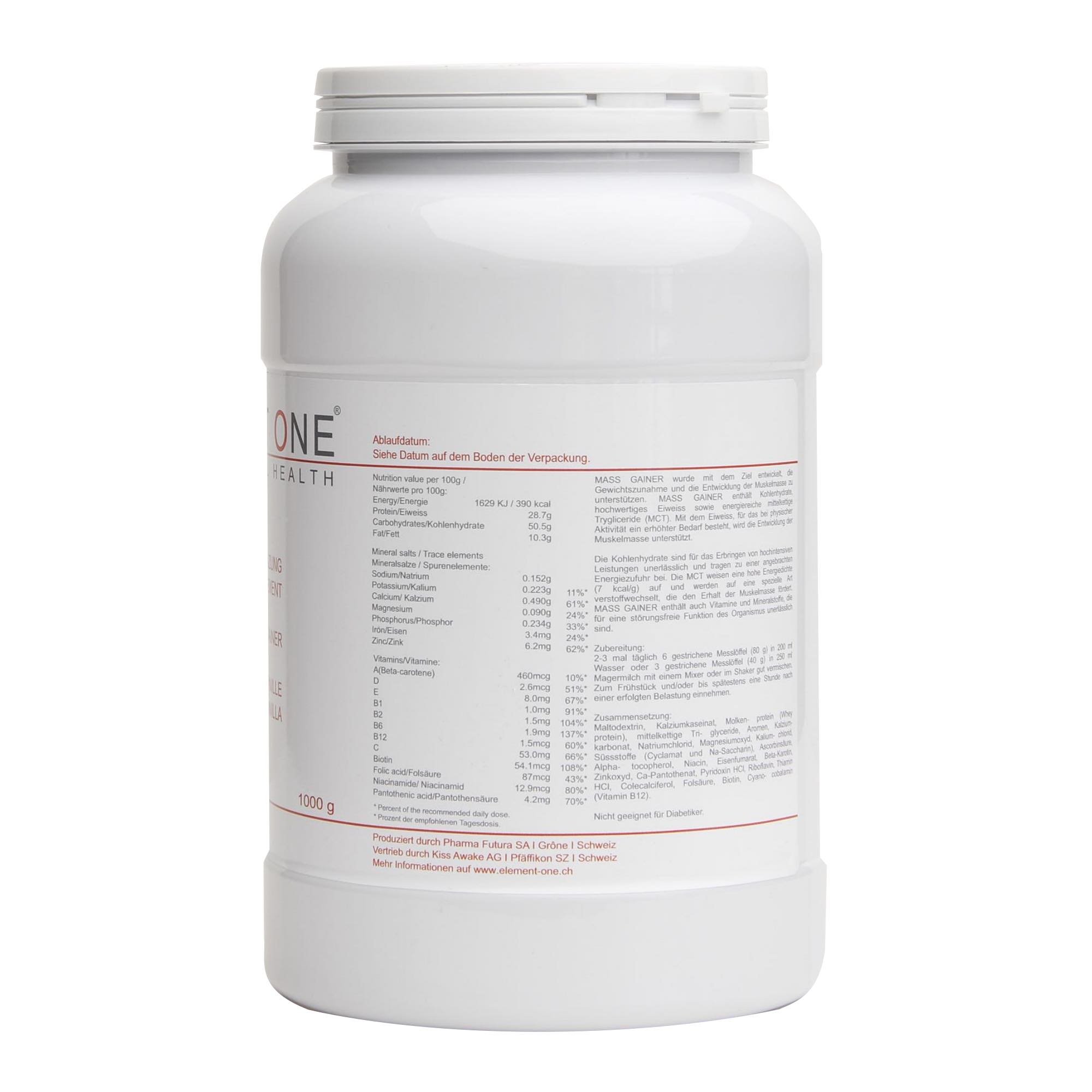 SPORT | MASS GAINER | SWISS NATURAL HEALTH